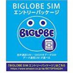 【格安SIM】名義変更不要で家族でシェアプランが組める BIGLOBEモバイル
